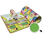 Unique Store Baby Crawling Mat, Baby Play Mat, Kids Safety Mat