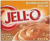 Jell - O Butterscotch Puddingpulver und Kuchenfüllung