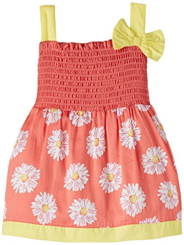 Cupcake Baby Girls' Dress (M9-9-2447_Coral_18 months)