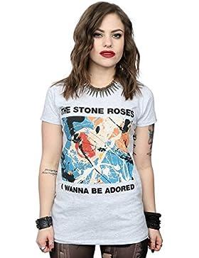 Stone Roses mujer I Wanna Be Adored Camiseta