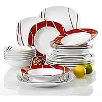 Amazon.it: servizio di piatti - 19-24 / Stoviglie: Casa e cucina