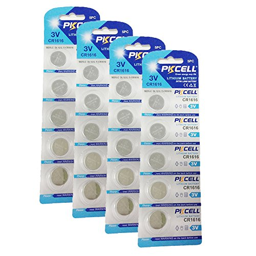 PKCELL - CR1616 / 20 unidades