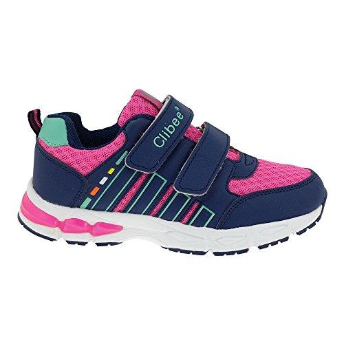 GALLUX - Kinder Sneaker Schuhe Jungen Mädchen Dunkelblau