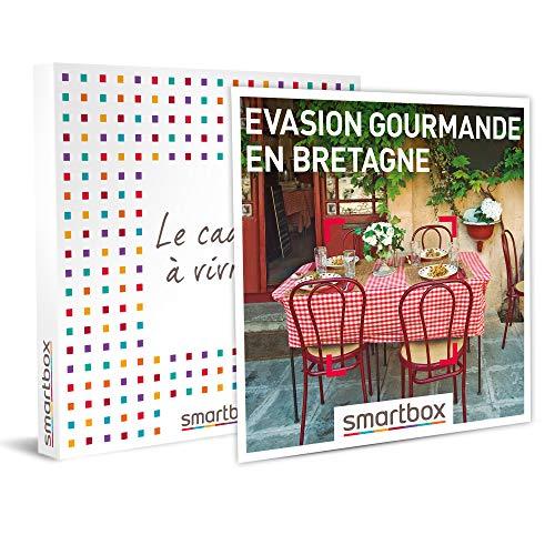SMARTBOX - Coffret cadeau - Évasion gourmande en Bretagne - idée cadeau - 1 nuit...