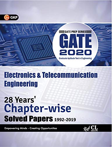 GATE 2020 : Electronics & Communication Engineering - 28 Years' Chapter-Wise Solved papers (1992-2019)