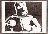 Poster Tekken Mokujin Handmade Graffiti Street Art - Artwork