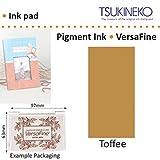 Caramel Versafine Tsukineko Détails Fins Pigment Encre Tampon Pour Timbre En Caoutchouc Séchage Rapide
