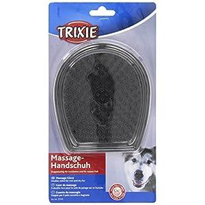 Trixie 2334 Massage-Handschuh, Gummi 12 × 14 cm