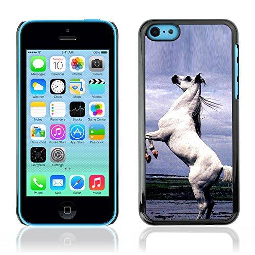 Graphic4You Pferd Tier Design Harte Hülle Case Tasche Schutzhülle für Apple iPhone 5C Design #9