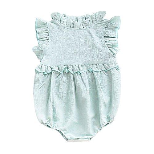Strampler für Baby Mädchen Baumwollanzug 0-24 Monate Kid Sleeves Kleidung von Bornbayb