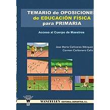 Temario de oposiciones magisterio: especialidad educación física