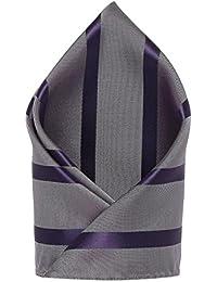 Grey::Purple Colored Pocket Square from the house of Alvaro Castagnino