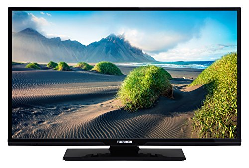 Telefunken XF32D401D 81 cm (32 Zoll) Fernseher (Full HD, Smart TV, Triple Tuner, DVD Player) (32-zoll-hdtv Mit Dvd-player)