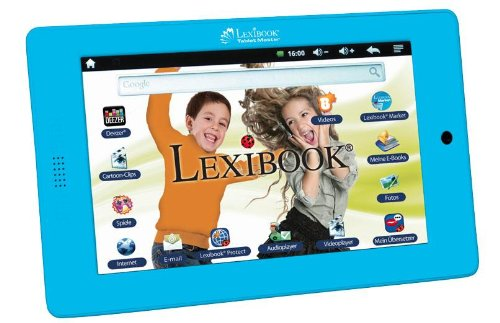 Lexibook Tablet Master MFC155DE 17,8 cm (7 Zoll) Tablet-PC (Rockchip, 512MB RAM, 4GB HDD, WiFi, Android OS) blau