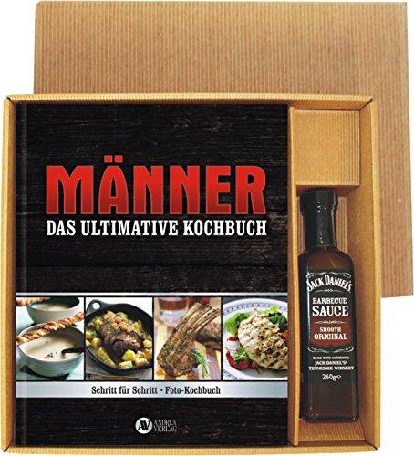 AV Andrea Verlag Das ultimative Männer Kochbuch mit Jack Daniel's BBQ Sauce 22526