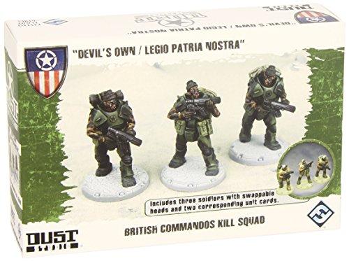 Dust Tactics: French Legion/Brit Commandos