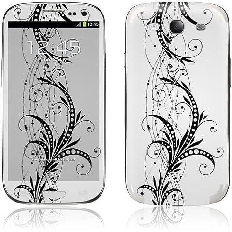 3M Premium in vinile pelle per Samsung Galaxy S3SIII i9300, Bianco Fleur - Fleur Pelle