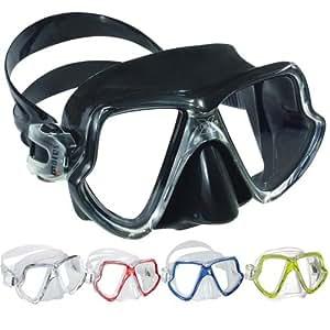 Mares 411015 Masque de plongée X-vision Regular Noir