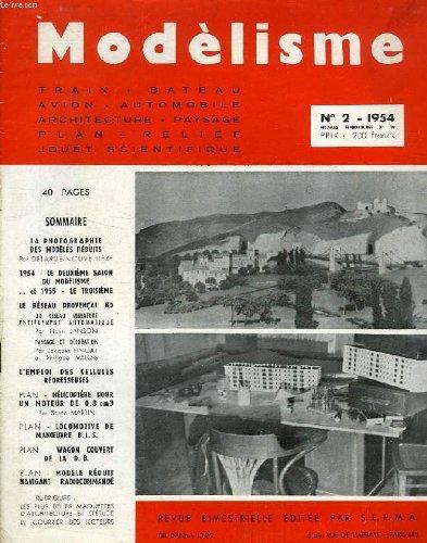 MODELISME, N° 2, 1954 par COLLECTIF