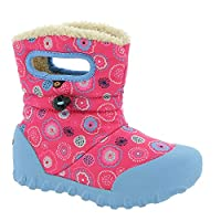 BOGS Baby Wellies BMOC Kids Boots Waterproof Childrens UK 5-12 (UK 9, Pink Multi- Bullseye)