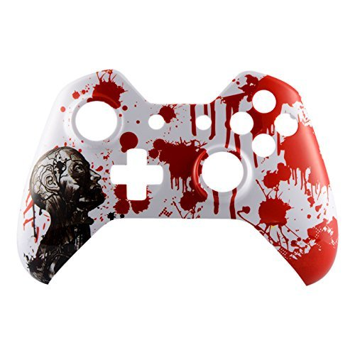E Xtreme Rate Zombie Blood Front Upper Shell Face Plate Replacement Parts For Xbox One Controller