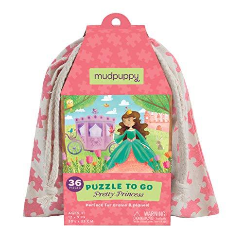 MudPuppy Pretty Princess Puzzle to Go