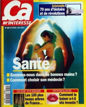 CA M'INTERESSE [No 164] du 01/10/199...