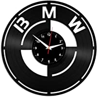 EVEVO BMW Reloj de Pared Vinilo Tocadiscos Retro de Reloj Grande Relojes  Style habitación Home Decoración ced514e1a34
