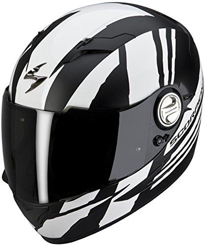 Casco-Scorpion-On-Road--EXO--500-Air--Thunder--bianco-nero-opaco