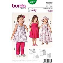 Patrón Burda 9437 Kids Coordinados