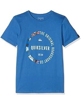 Quiksilver Classic Revenge, Camiseta para Niños, Azul (Bright Cobalt), M/12