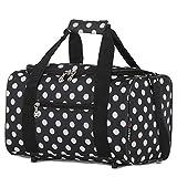 5 Cities 5 Cities 35x20x20cm Ryanair Sized Small Bag Cabin Luggage, 14L (Black Polka) Bolsa de viaje 35 centimeters 14 Multicolor (Black Polka)