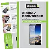 dipos I 2X Schutzfolie matt passend für Huawei MediaPad X1 7.0 Folie Bildschirmschutzfolie