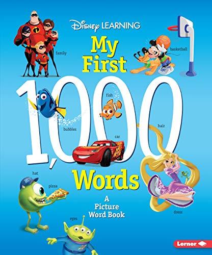 Disney Learning My First 1,000 Words por Erica Yu
