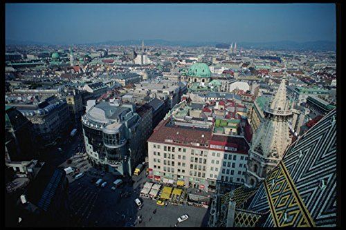 222016-view-of-old-vienna-from-tower-of-st-stephens-a4-photo-poster-print-10x8