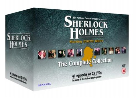 The Sherlock Holmes Collection (23 Disc Box Set) [DVD] [1988]