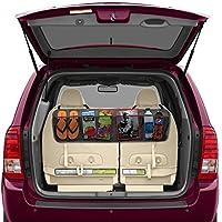 Jigva Car Back Seat Storage Organizer (Black) …