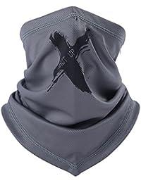 Cache-cou Col Nez Unisexe Masque Tour de Cou Moto Chaud Couvre-Cou Hiver  Anti-vent Echarpe Foulard Tube Eté Extérieur Anti-UV Respirant… b10d3cc7dcd