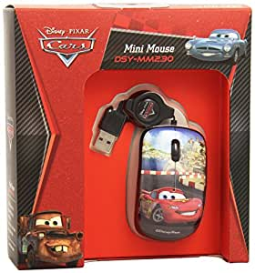 MCL Samar Cars Mini souris optique USB 800 dpi