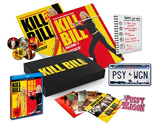 Kill Bill: Volume 1 & 2 - Black Mamba Edition - Ultimate Fan Collection [Blu-ray]