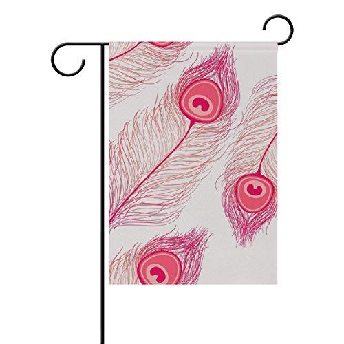 Bennigiry Garten-Motiv -, Welcome, 30,5cm (12Zoll), Schwarz, Gesponnenes Polyester, Multi#003, 12x18(in) (Krone 003)