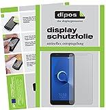 dipos I 6X Schutzfolie matt passend für Alcatel 1X Folie Bildschirmschutzfolie