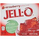 Jello Gelée à la Fraise 85 g - Lot de 6