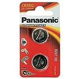 CR2032 Münze Batteriepack x 2 / Lithium 3V / für Uhren, Taschenlampen, Autoschlüssel , Taschenrechner , Kameras, etc / iCHOOSE