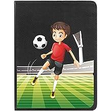 Funda bq Edison 3 mini BeCool Libro Fútbol