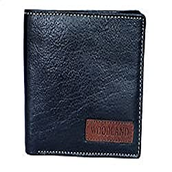 Woodland Black Mens Wallet (W 524004)