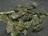 Shivansh Creations un (1) Fine Moldavite Tectite à partir de la République Tchèque–5cts