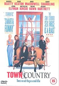 Town And Country [DVD] [2001]
