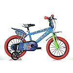 51SFEQDiyuL. SS150 Kalttoy - Cestino da bicicletta per bambini, 5 colori Red
