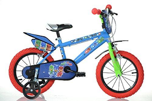 """Dino Bikes 416U-PJ Niños Rastrear 19"""" Acero Multicolor bicicletta - Bicicleta (Vertical, Rastrear, 48,3 cm (19""""), Acero, Multicolor, Cadena)"""